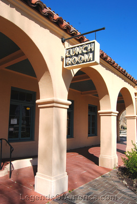 Kelso, CA - Railroad Depot Lunch Room Sign