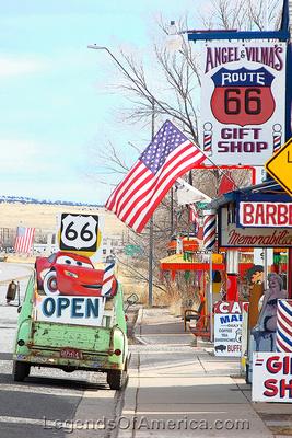Seligman, AZ - Route 66 Street Scene
