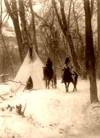 Apsaroke/Crow - Winter Camp