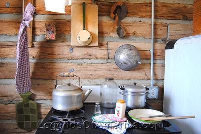 Pahrump, NV - Museum 1940s Kitchen