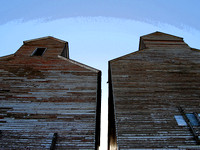 Arena, ND - Grain Storage - Art