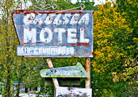 Chelsea, OK - Motel Sign
