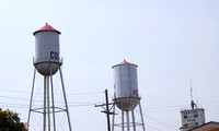 Canton, KS - Hot & Cold Water Towers
