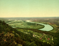 Chatanooga, TN - Moccasin Bend From Lookout Mountain