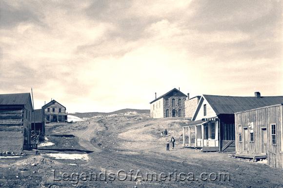Elizabethtown, NM - Main Street, 1943