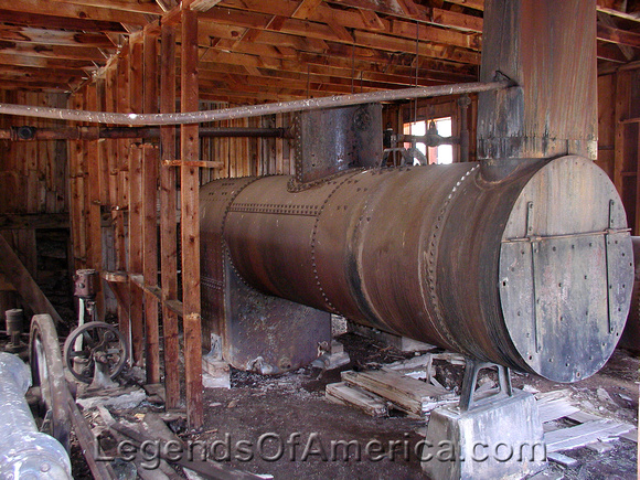 Eagle Nest, NM - Idlewild Klondyke Mine Equipment