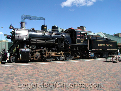 Williams, AZ - Grand Canyon Railroad