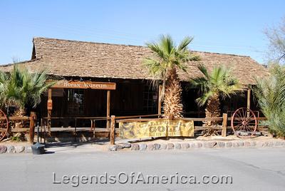 Furnace Creek, CA - Furnace Creek Ranch Borax Museum