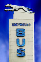 South Carolina - Greyhound Bus Sign