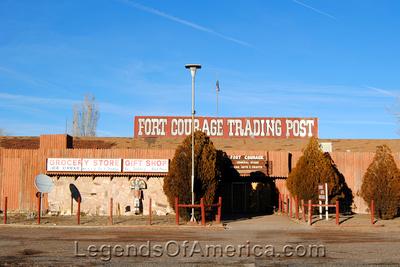 Houck, AZ - Fort Courage Trading Post
