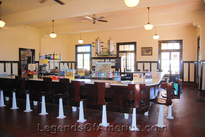Kelso, CA - Railroad Depot Museum Lunch Room