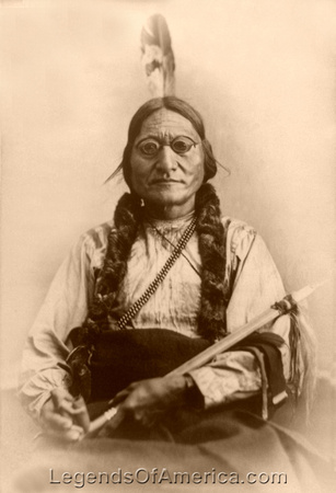 Lakota Sioux - Chief Sitting Bull
