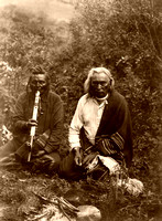 Apsaroke/Crow - Indians Smoking, 1905