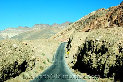 Death Valley, CA - Artist Palette Road