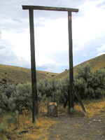 Bannack, MT - Gallows