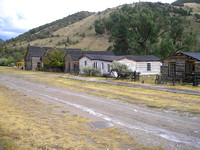 Bannack, MT - Houses