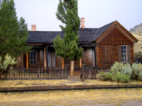 Bannack, MT - Roe Graves House