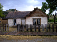 Bannack, MT - Ryburn House