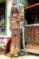 Bandera, TX - Cigar Store Indian