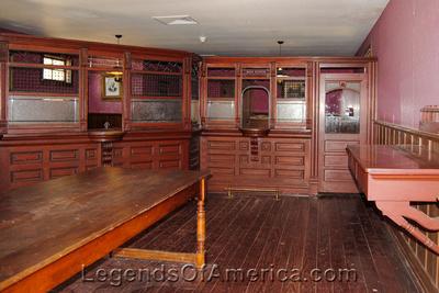 Wichita, KS - Old Cowtown - Bank Interior