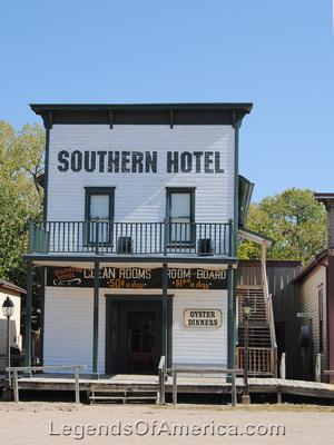 Wichita, KS - Old Cowtown - Southern Hotel