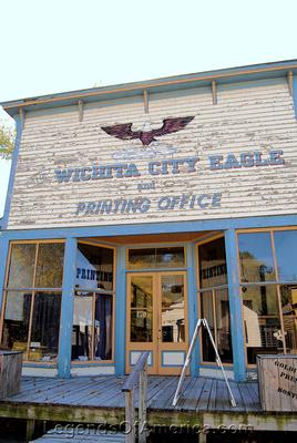 Wichita, KS - Old Cowtown - Wichita City Eagle