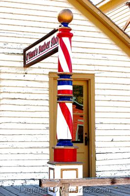Wichita, KS - Old Cowtown - Ohara's Barber Shop