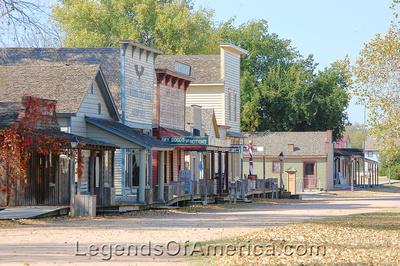 Wichita, KS - Old Cowtown - Main Street