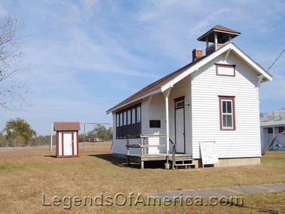 Elk Falls, KS - One Room School