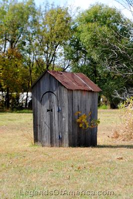 Elk Falls, KS - Outhouse - 2