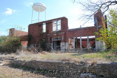 Elk City, KS - High School Ruins - 2