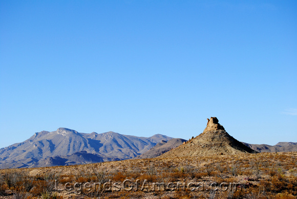 Big Bend National Park, TX - Camel Rock