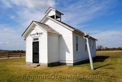Independence, KS - Little House on the Prairie Museum - Sunnyside Schoolhouse