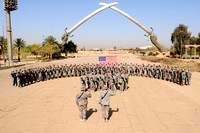Baghdad, Iraq - 82nd Airborne Re-enlistment Ceremony