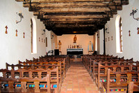 San Antonio, TX - Mission Espada - Church Interior