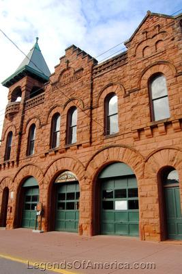 Calumet, MI - Copper County Firefighters Museum