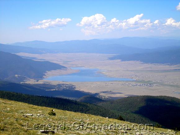 Eagle Nest Lake - From Mount Baldy
