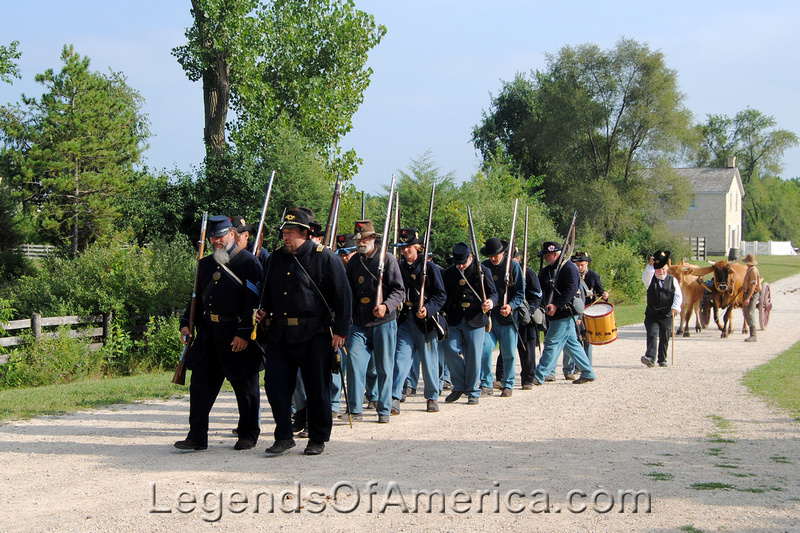 Old World Wisconsin -Soldiers March