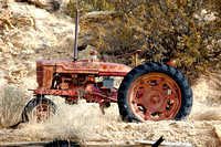 Budville, NM - Tractor