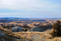 Roosevelt Nat Park, ND - Badlands Overlook - 2