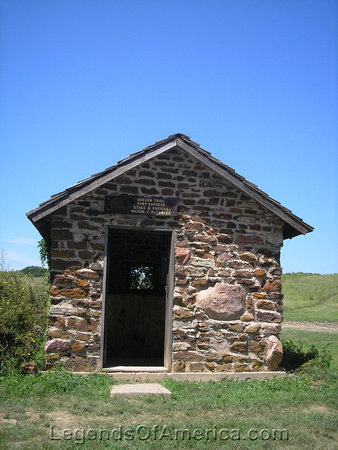 Rock Creek Station, NE - Pony Express Building