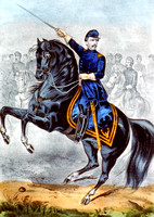 George B. McClellan at the Battle of Antietam, MD