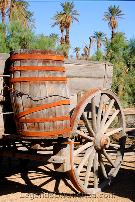 Furnace Creek, CA - Furnace Creek Ranch Borax Museum Wagon