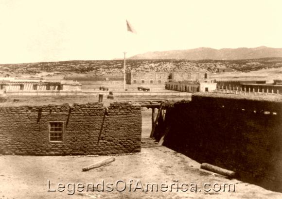 Santa Fe, NM - Fort Marcy, 1868