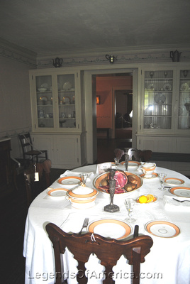 Mendota, MN - Sibley Historic Site - Sibley House Dining Room