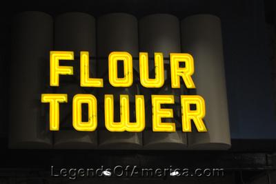 Minneapolis, MN - Mill City Museum -Flour Tower