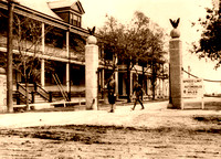 Fort Sam Houston, TX -  Entrance, 1912