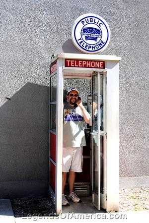 Lanesboro, MN - Phone Booth