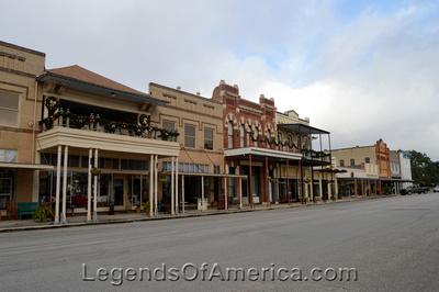 Goliad, TX - Downtown