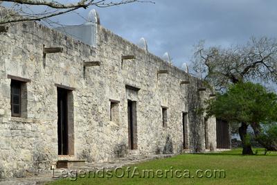 Goliad, TX - Mission Espirtu Santo - Warehouse